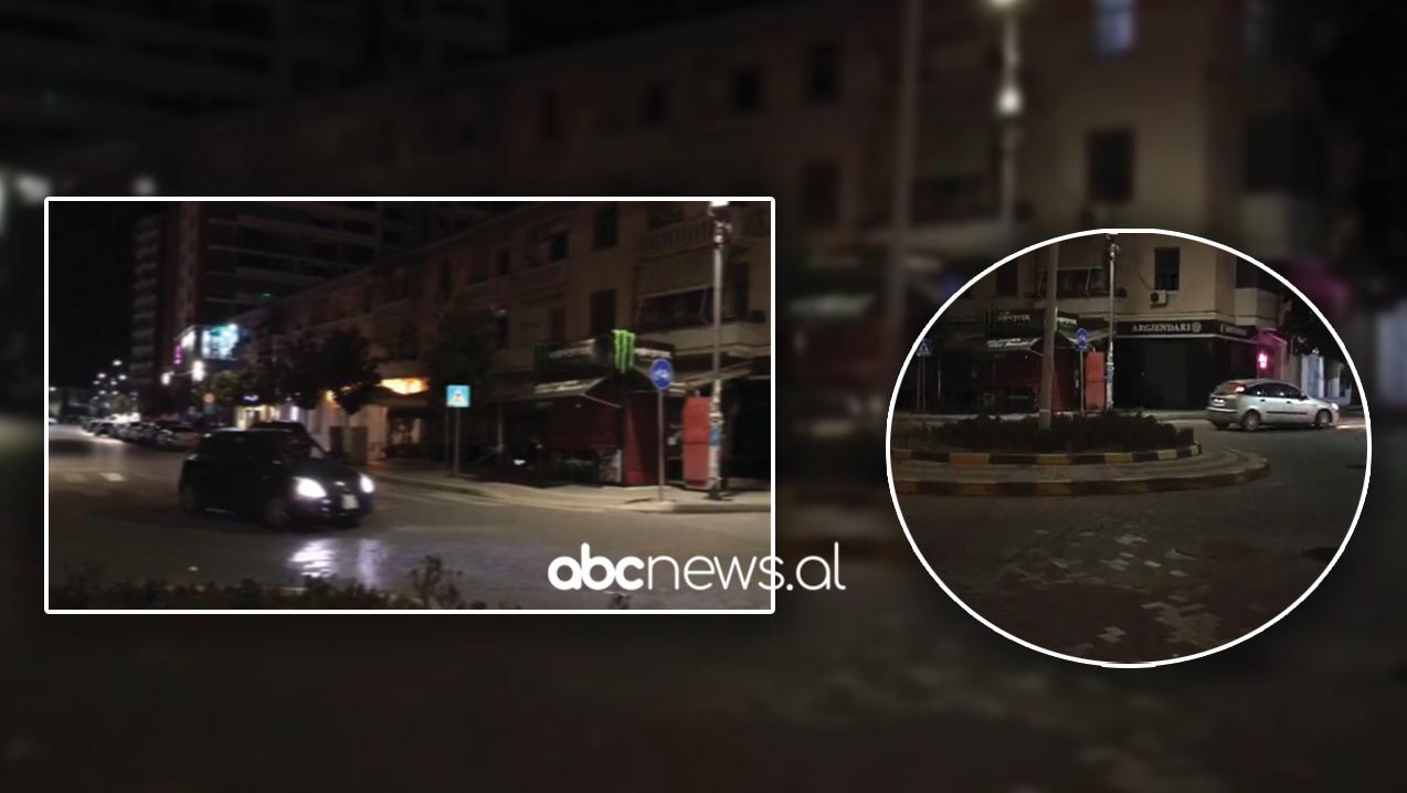 """""""Rrugorja"""" inekzistente, kaos në Elbasan nga bllokimi për të shmangur trafikun, shoferët futen kundërvajte"""