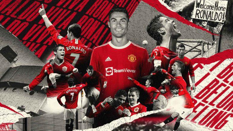 Pritje speciale për Ronaldon, ja plani në  Old Trafford