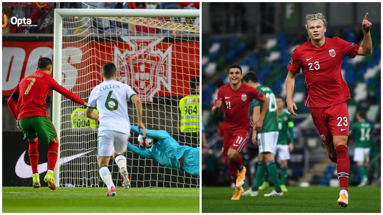 """VIDEO/ Ronaldo humbet penallti pas 3 vitesh, Haaland """"pickon"""" Holandën"""