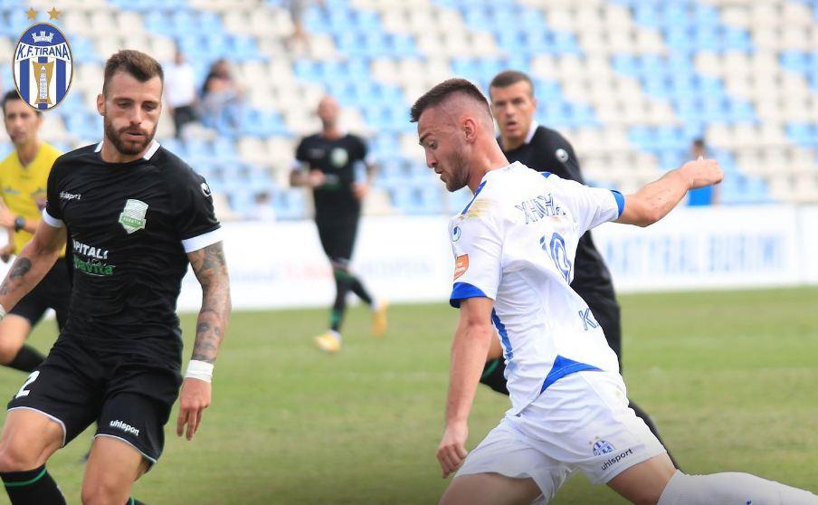 VIDEO/ Ndizet Tirana-Egnatia, dy gola të shpejtë dhe një i anuluar
