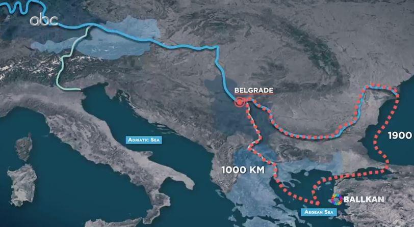 Tunelet kineze të Ballkanit