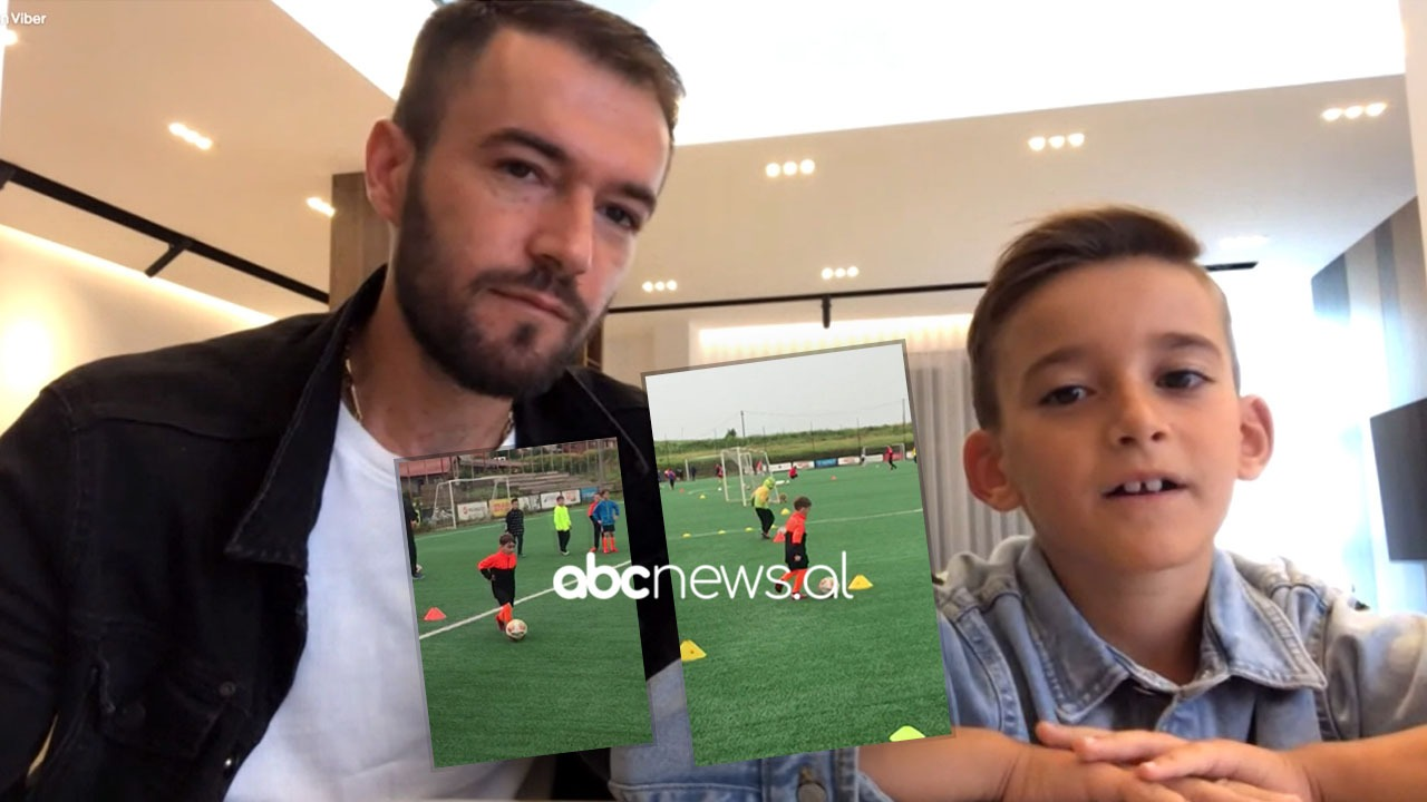 """Fjala e tij e parë ka qenë """"top"""", njihuni me fenomenin 8-vjeçar në futboll"""