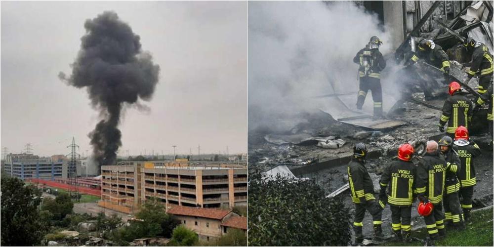Përplasja e aeroplanit në Milano, mes viktimave edhe një fëmijë