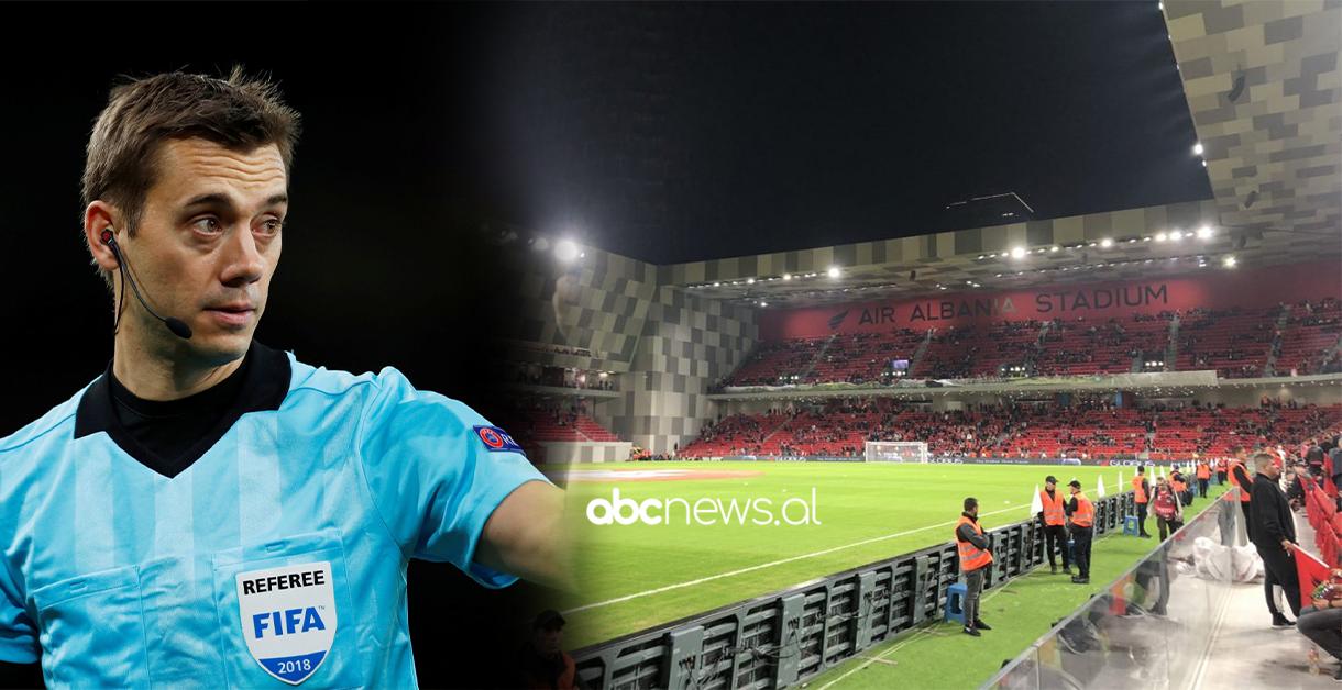 FOTO/ Ndeshja më e rëndësishme për Shqipërinë në këto kualifikuese, UEFA cakton një super arbitër