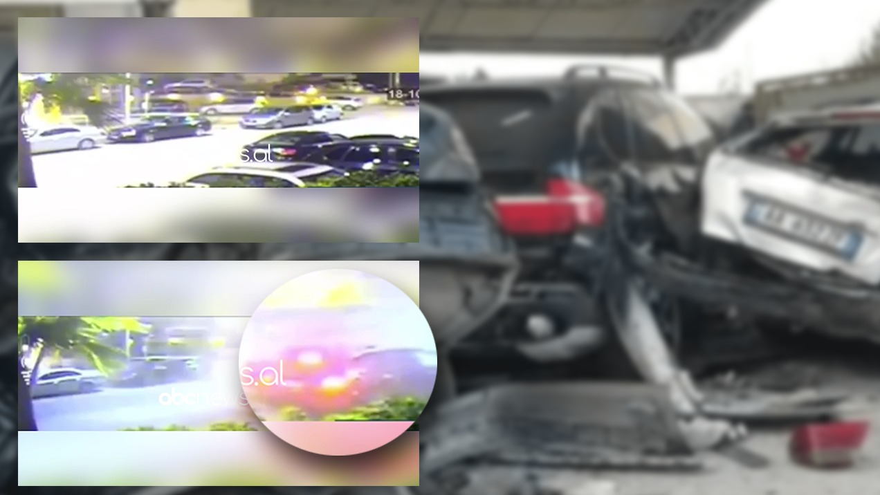VIDEO-Dalin pamjet e aksidentit të frikshëm në Durrës, pesë makina copë copë