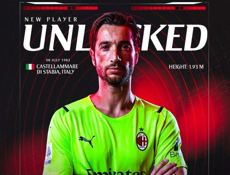 Milani firmos me portierin e njohur