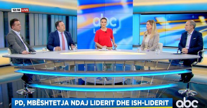 Situata politike në PD, mbështetësit e Bashës dhe Berishës sherr në ABC Live