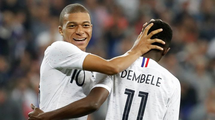 Ylli i Bayernit: Dembele është më i mirë se Mbappe
