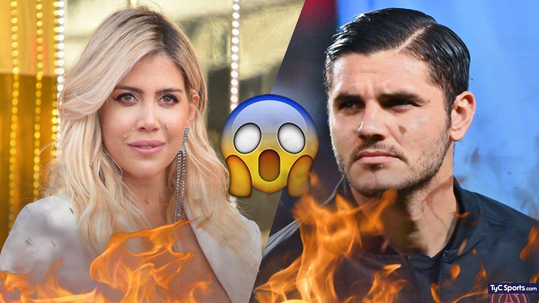 FOTO/ Shkak tradhtia, ndahen Mauro Icardi dhe Wanda Nara?