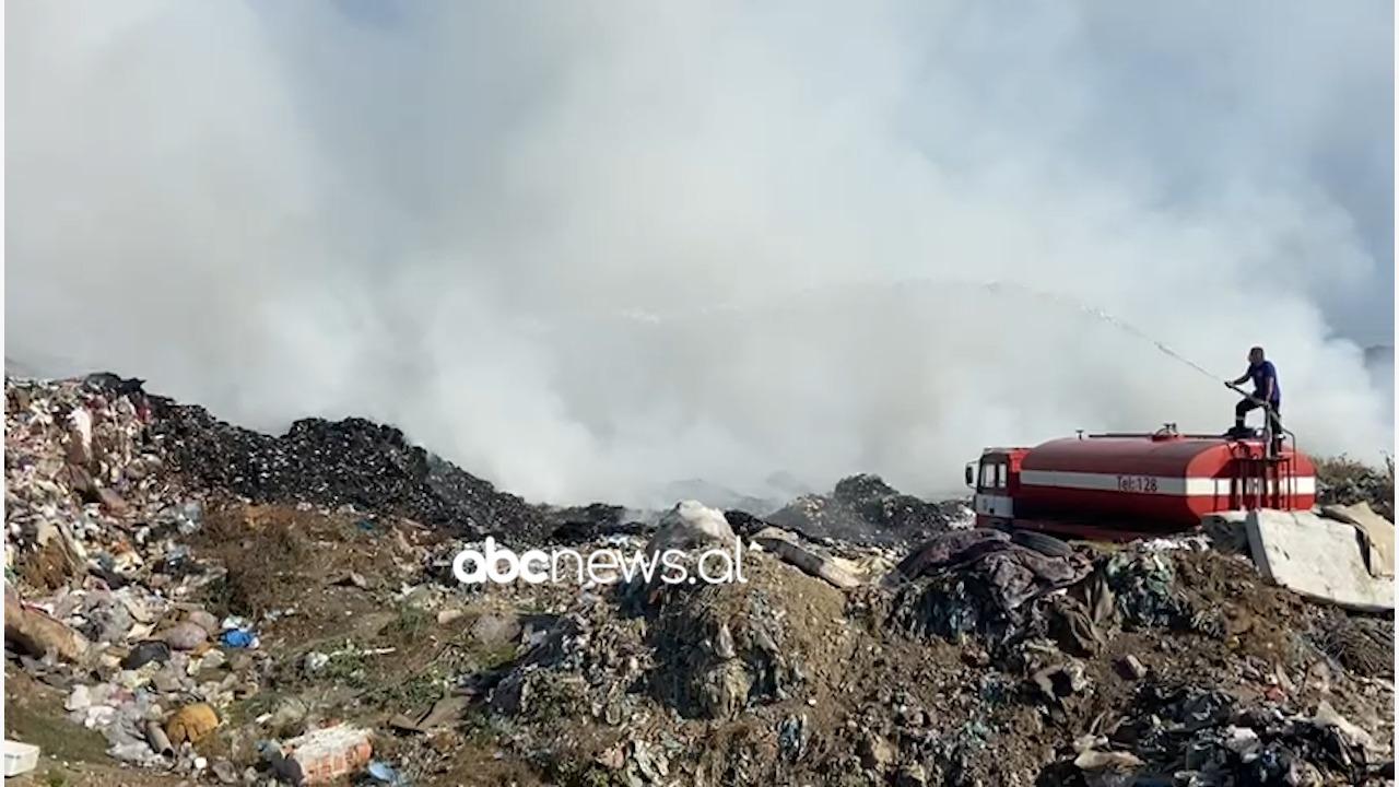 Pas Fierit i vihet zjarri edhe landfill-it të Vlorës, tjetër skenar me plehrat?
