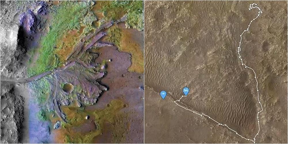 NASA publikon fotot nga shtrati i një lumi të lashtë në Mars, dikur mund të ketë lulëzuar jeta