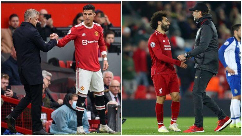Solskjaer konfirmon fjalët e Klopp për Salah, nuk do t'i pëlqejë Ronaldos