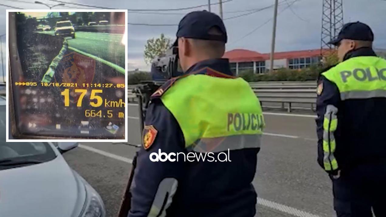 """Kurthi i policisë për të kapur shoferët e """"çmendur"""""""