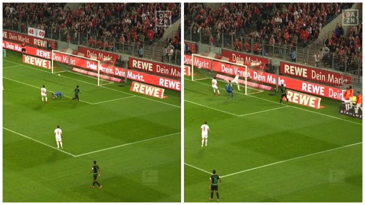 """VIDEO/ """"Kur nuk do, nuk do"""", shtyllat e """"çuditshme"""" në Bundesliga"""