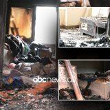 Zjarr në pallat në Tiranë, nënë e bir hidhen nga dritarja për të shpëtuar, vdes e moshuara